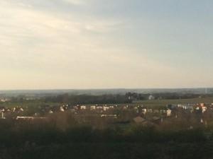 Utsikten norröver
