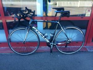 Cykeln redo innan hemfärd