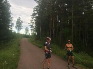 Teamåkarna (AXA) Holmstrand och Steen.