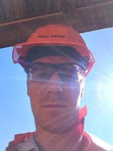 Så såg jag ut i gruvan, liknar ju byggaren Bob.