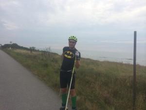 Rickard (Batman) var stark idag, ingen dålig utsikt vi hade, kustväg nästan hela vägen.