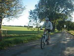 Fick cykla i mina gamla löparskor idag då jag glömde cykelskorna i Lund, men det gick det med. Foto: Oskar Henriksson