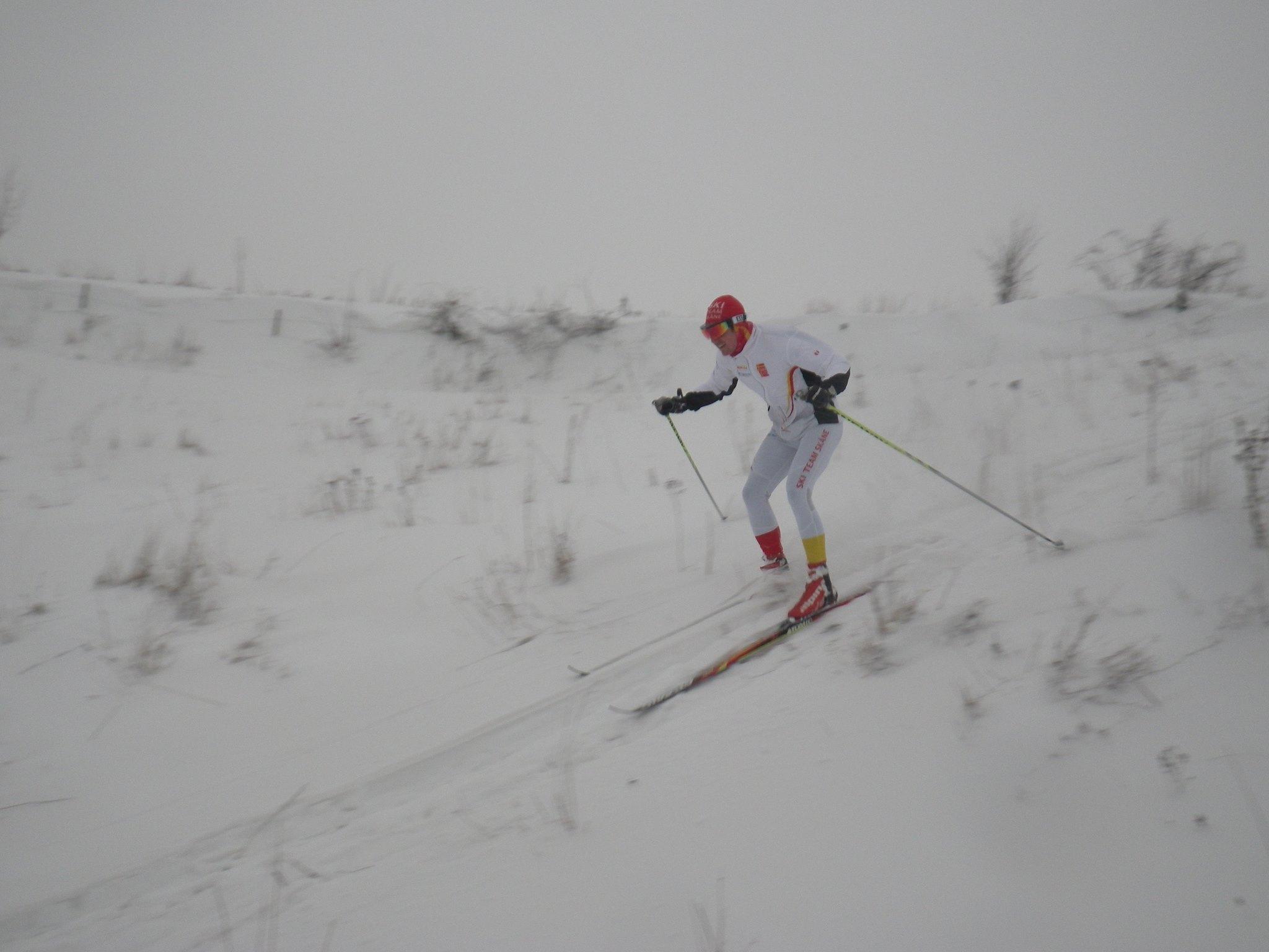 Här skulle nog inte många åka nerför ens på slalomskidor. Foto: Oskar Henriksson