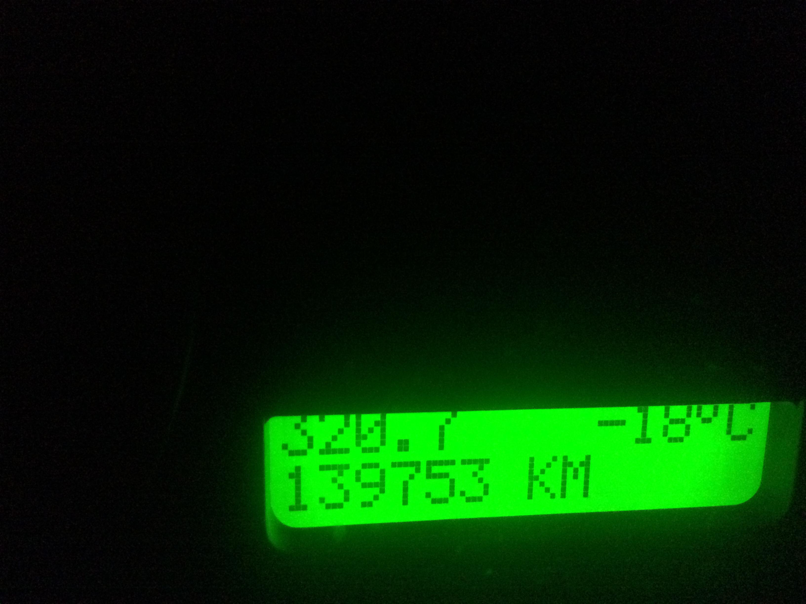 Kallt satan i Ulricehamn ikväll