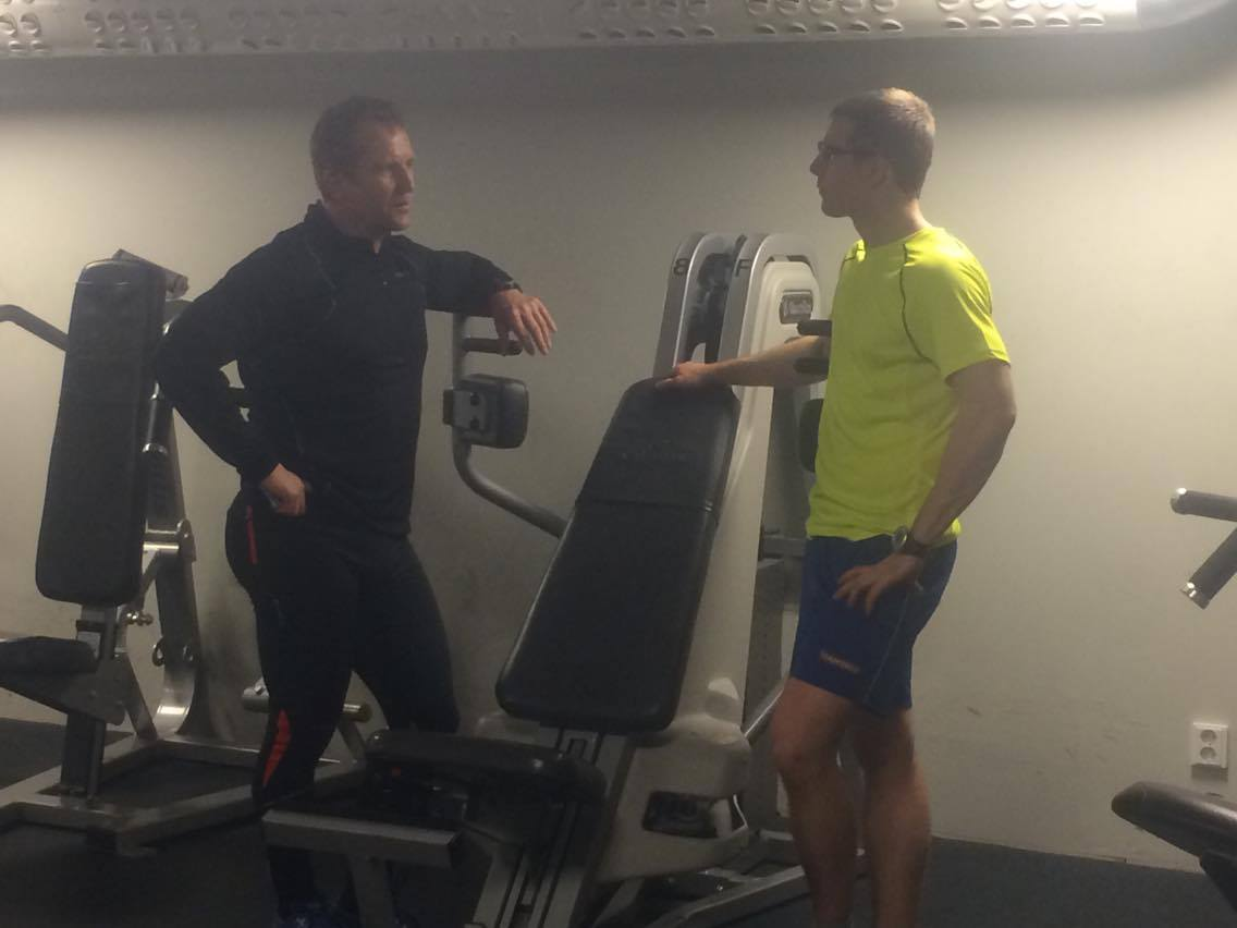 Den pratglade trevliga norrmanen som jag idag träffade i gymmet. Foto: Paparatzzi Mara Navasa