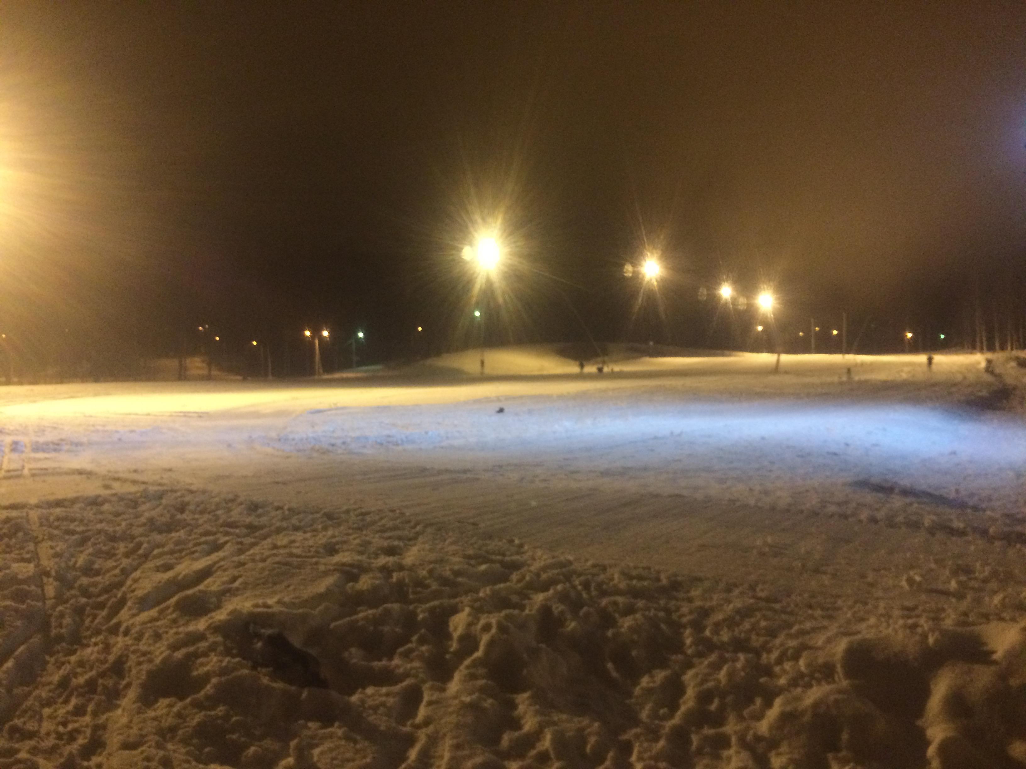Bild ifrån igår på Borås Skidstadion