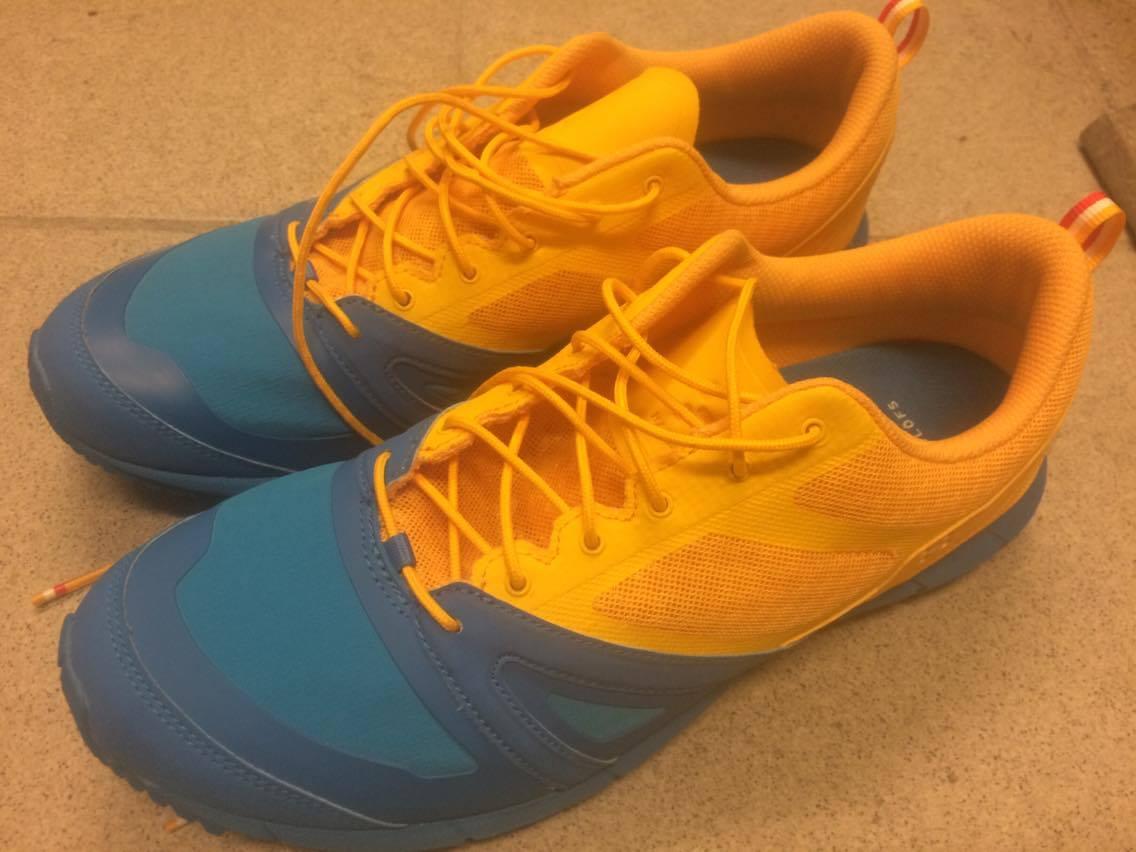 Mina nya Svennebanan skor, tycker de är coola!