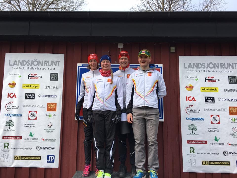Vinnarlaget. Foto: Håkan Huselius