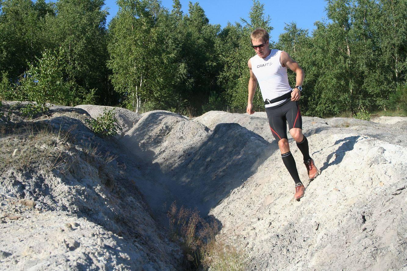 Riktigt löpning? Foto: Oskar Henriksson
