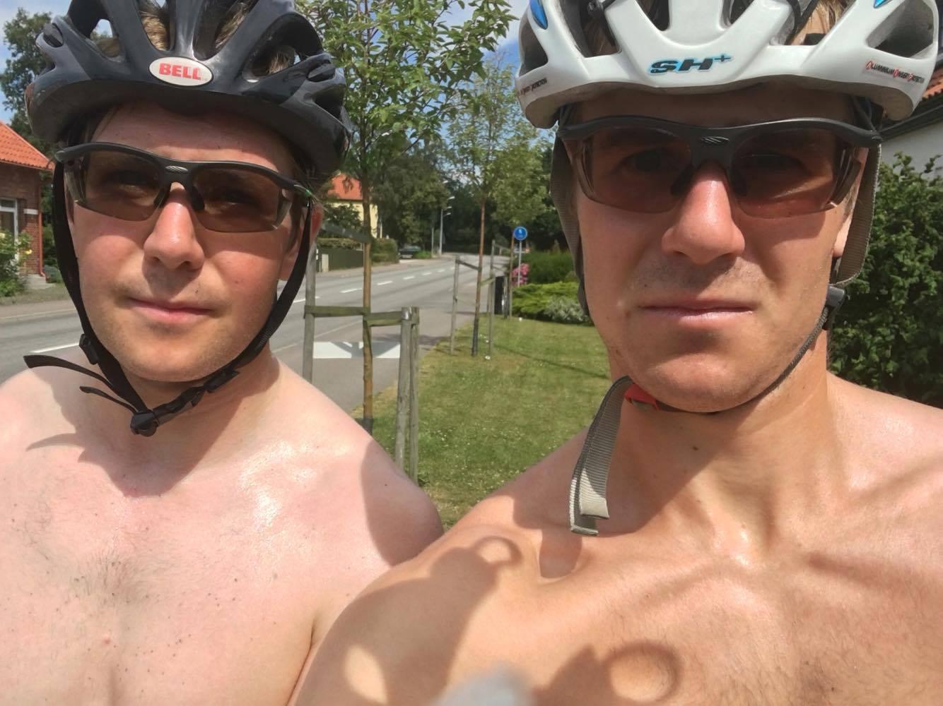 Bröderna Andersson var ute och stakade på Österlen, den ene mer vitare och fetare än den andre.