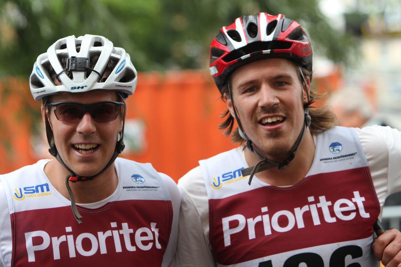 26:an (jag) och 25:an (Viktor Axelsson