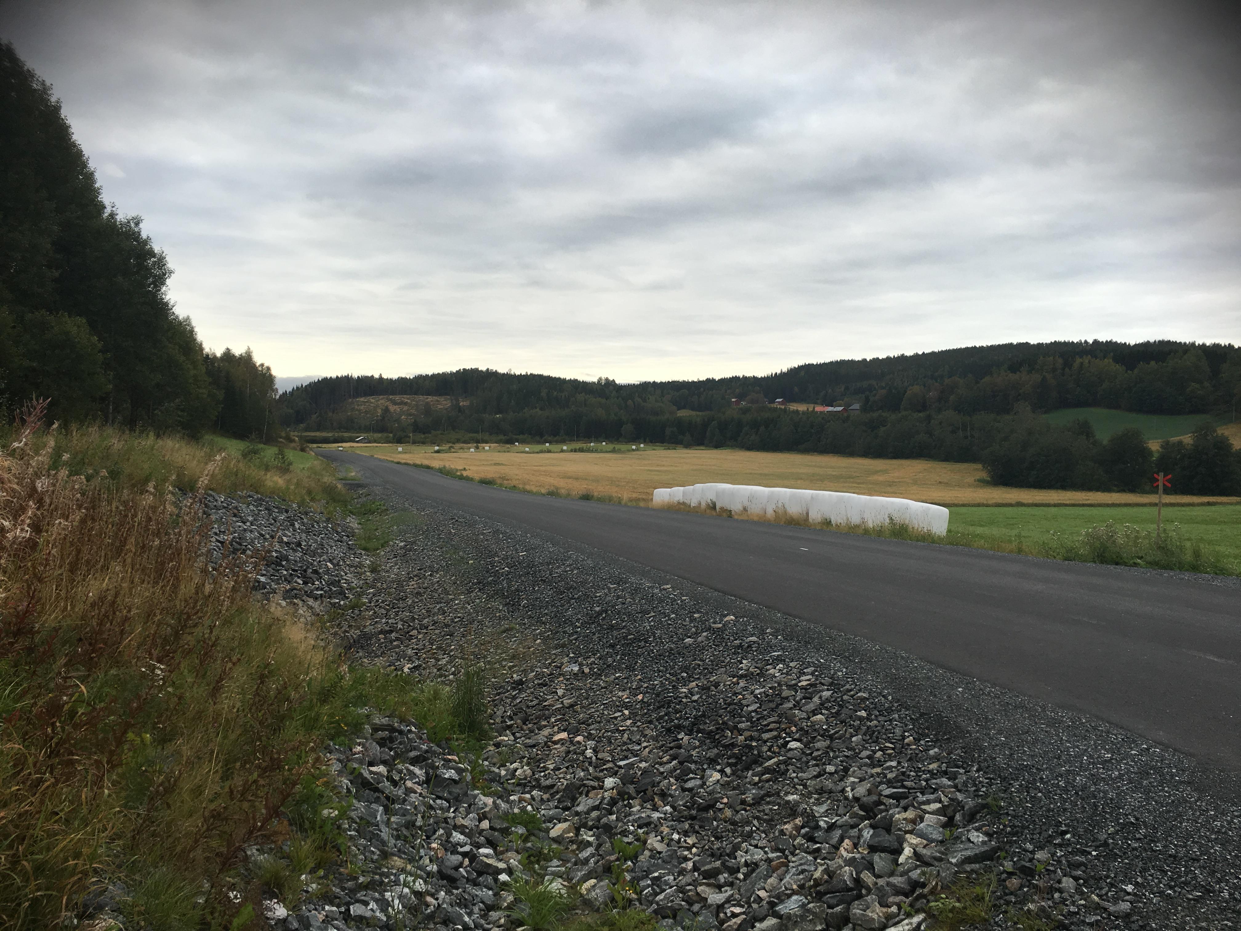 Att åka på ny asfalt är inte alls dumt.