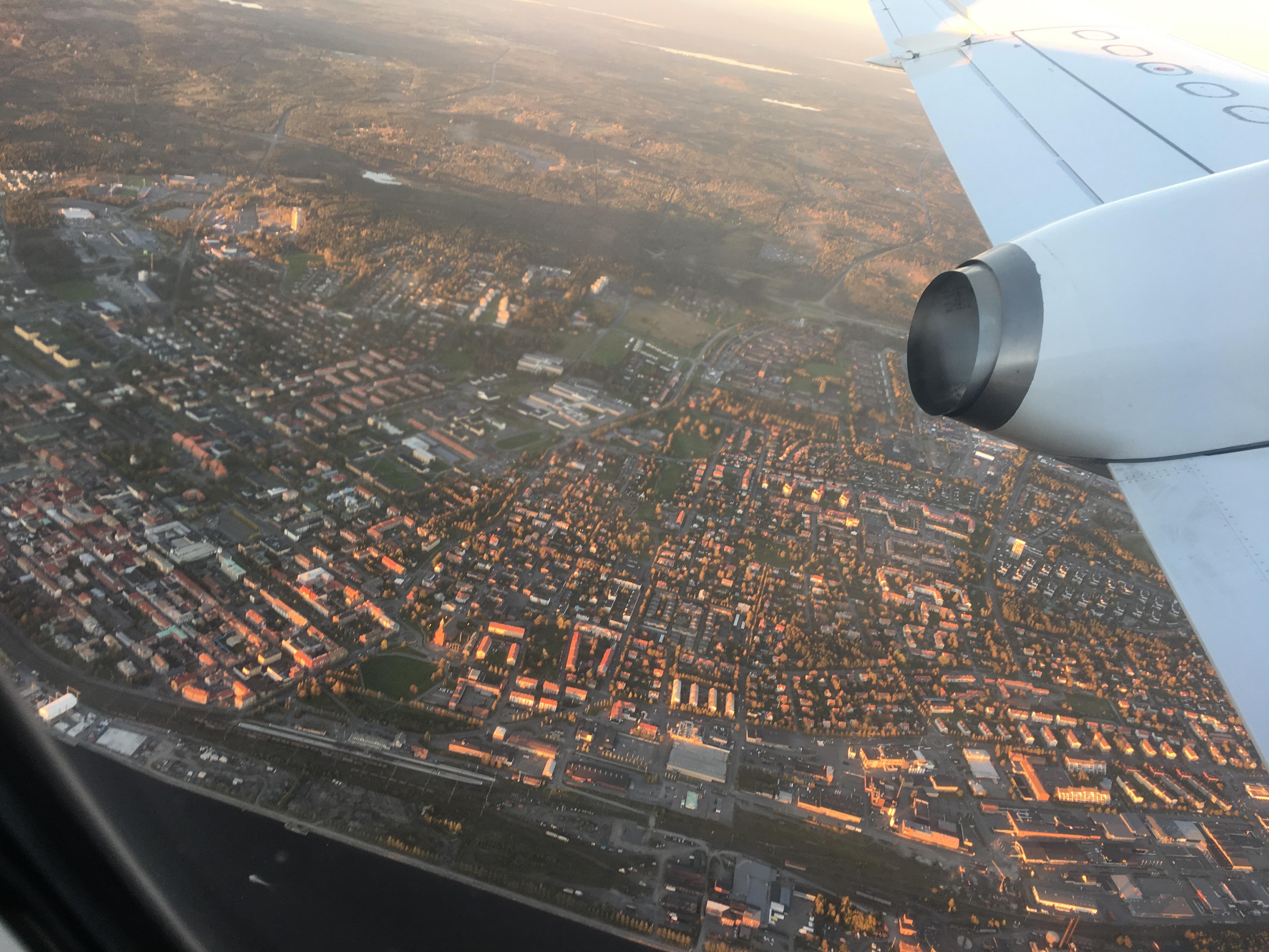 Östersund från luften